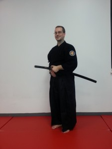 Andrew Wichman achieved Shodan 1st Degree Black Belt in Ryu Sei Ken in Osaka Japan directly from Saruta Soke.
