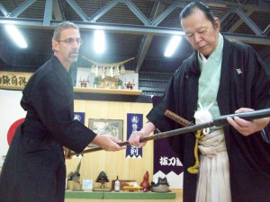 Saruta Soke and Forestieri Sensei 04-21-2013